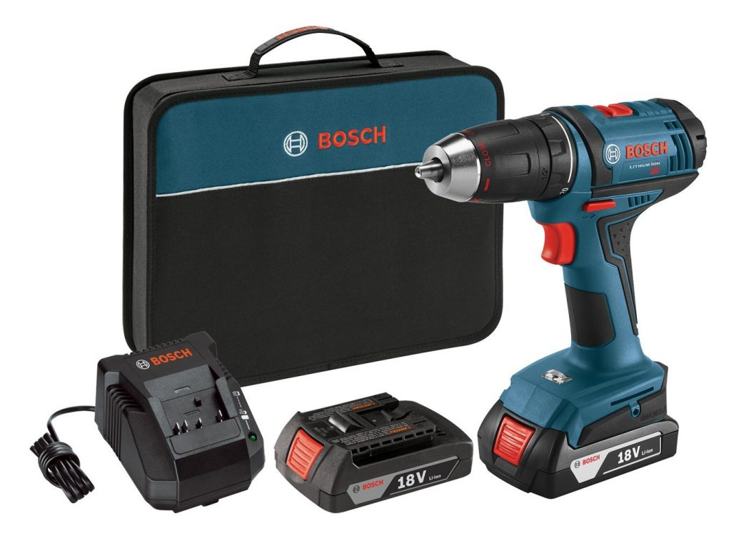 Bosch DDB181-02 18-Volt Lithium-Ion 1/2-Inch Compact Tough Drill