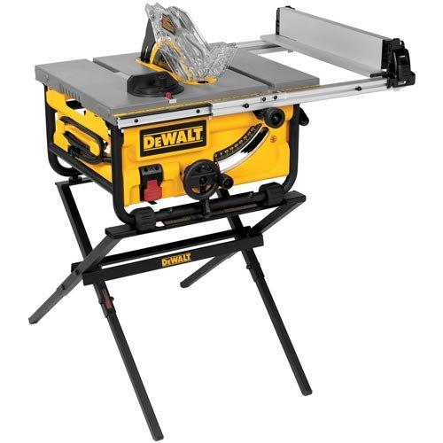 DEWALT DWE7480XA Compact Job Site Table Saw