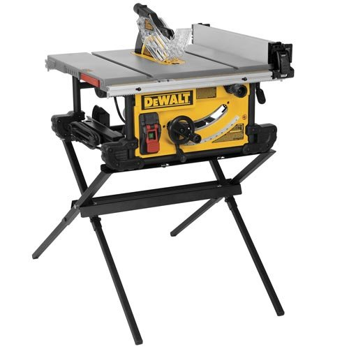 DEWALT DWE7490X Job Site Table Saw