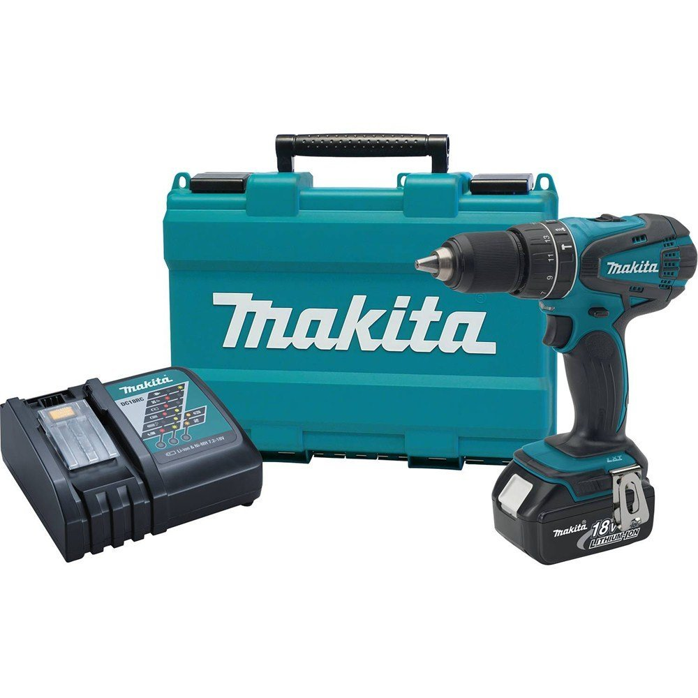 Makita XPH012 18V LXT Lithium-Ion Cordless 1/2-Inch Hammer Driver-Drill Kit