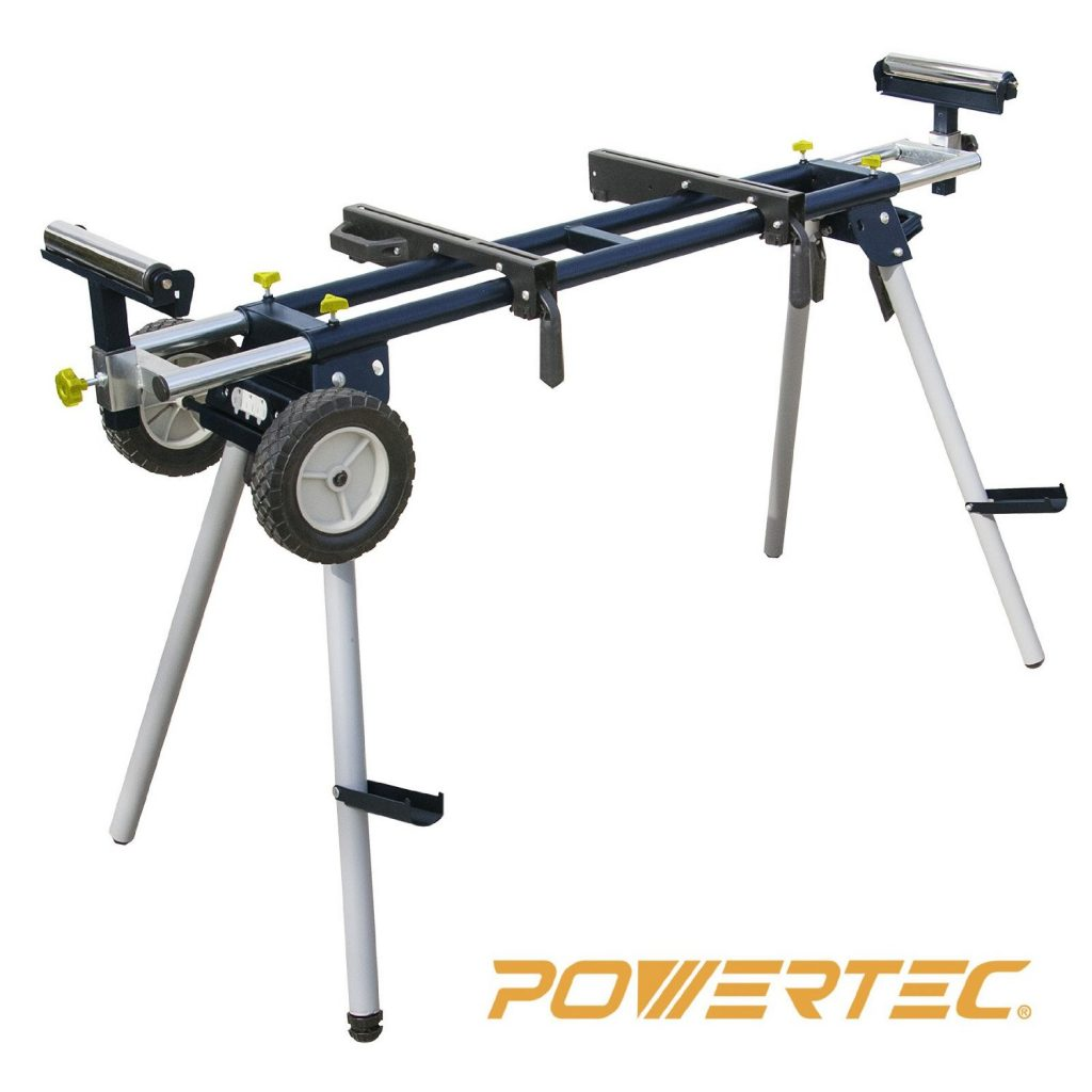 POWERTEC MT4000 Deluxe Miter Saw Stand