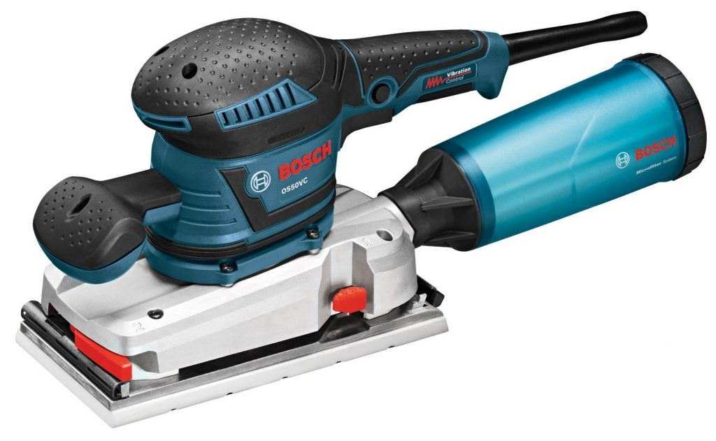 Bosch OS50VC Variable Speed 1:2-Sheet Orbital
