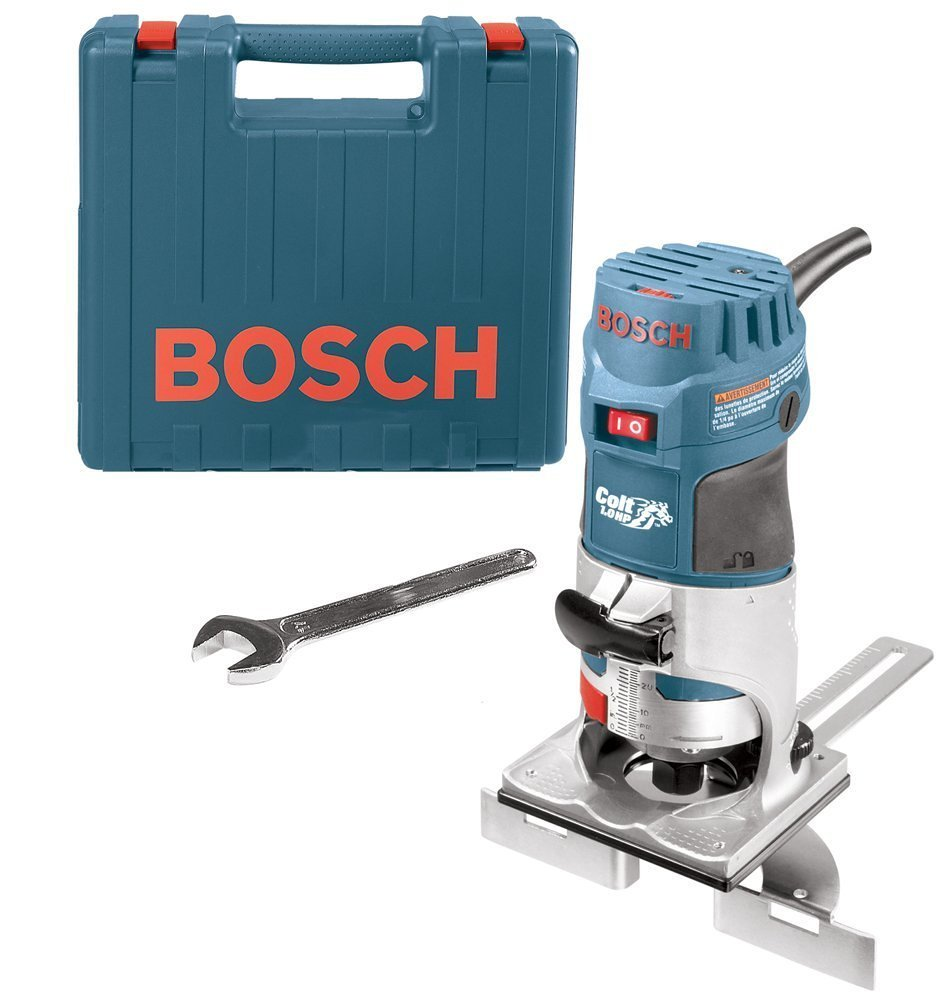 Bosch PR20EVSK Colt Palm Grip Fixed Based Variable Speed Router