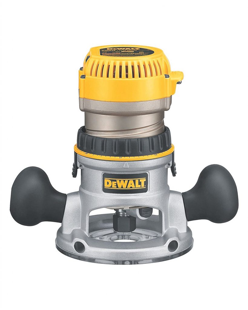 DEWALT DW618 Variable-Speed Fixed-Base Router