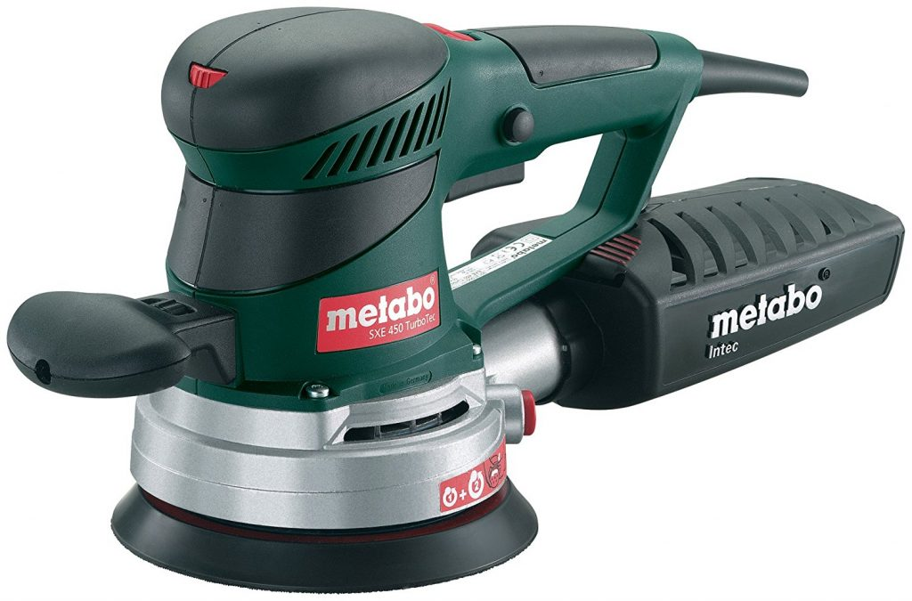 Metabo SXE 450 TurboTec 350 Watt Electronic Disc Sander