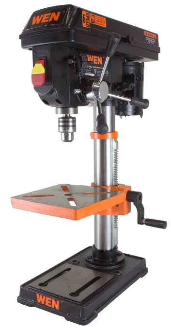 WEN 4210 Drill Press with Crosshair Laser