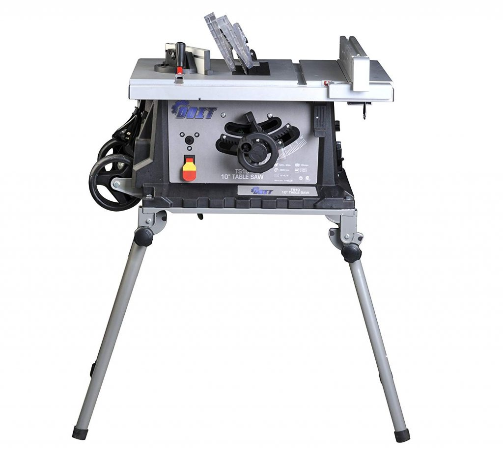 "Ainfox 15Amp 10"" 4800/min Speed Table Saw"