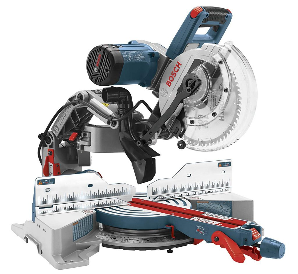 Bosch 10-Inch 15-Amp Dual Bevel Axial-Glide Compact Miter Saw