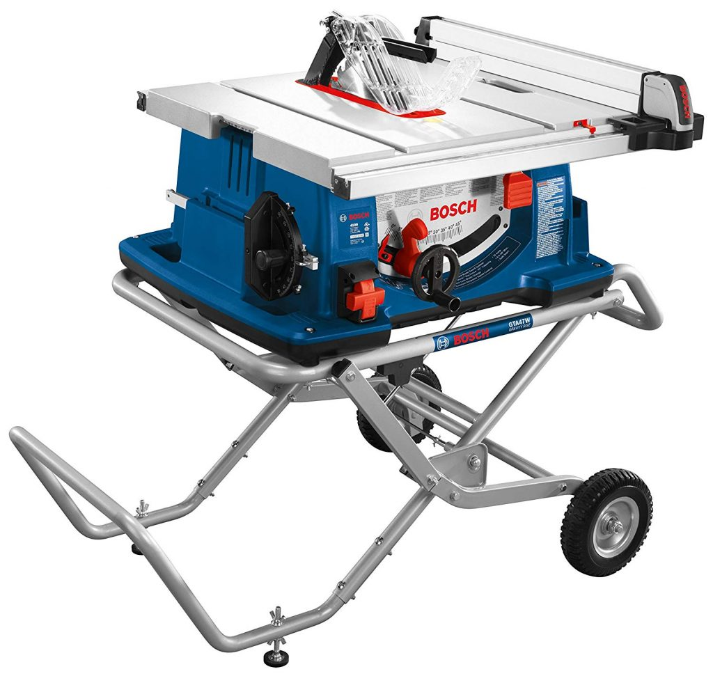 Bosch 4100-10 10 In. Gravity-Rise Worksite Table Saw