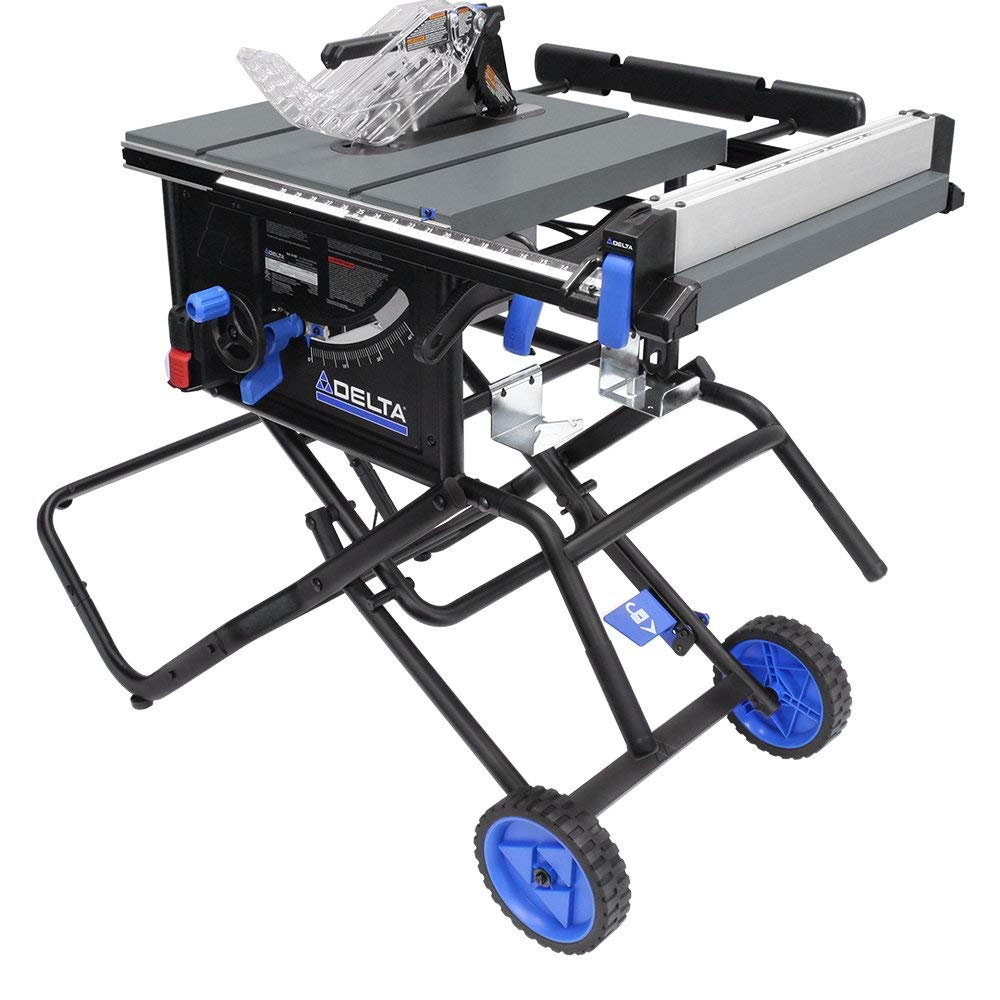 "Delta Power Tools 36-6020 10"" Portable Table Saw"