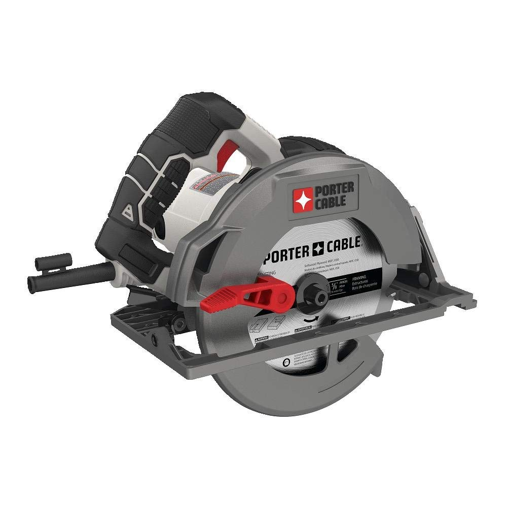 "PORTER-CABLE PCE310 15 Amp 7-1/4"" Heavy Duty Magnesium Shoe Circular Saw"