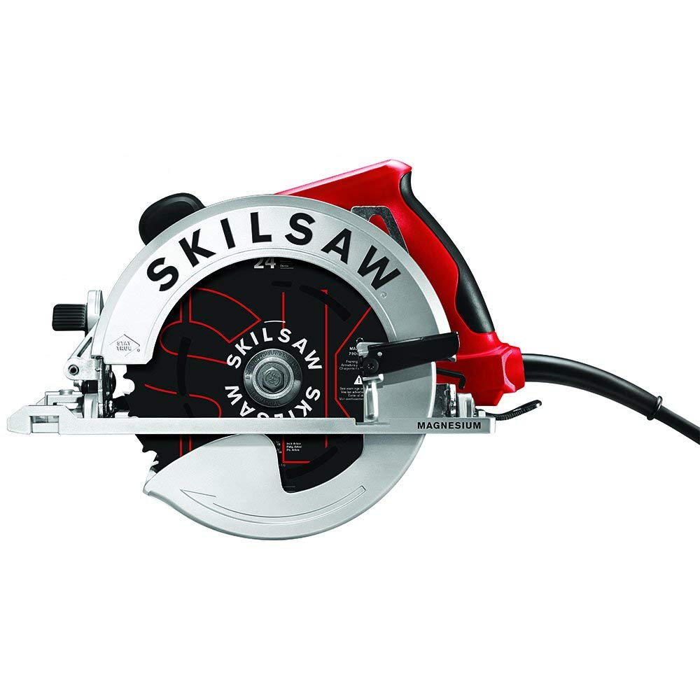 SKILSAW SOUTHPAW SPT67M8-01 15 Amp 7-1:4 In. Magnesium Left Blade Sidewinder Circular Saw