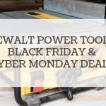 dewalt power tools black friday