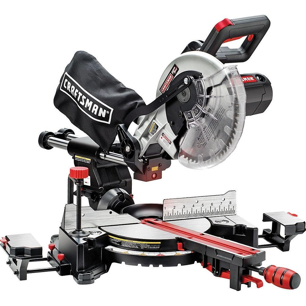 Craftsman-10-Single-Bevel-Sliding-Compound-Miter-Saw