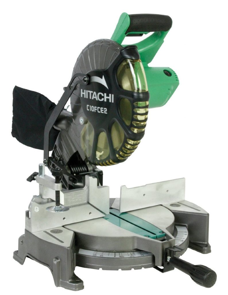 Hitachi-C10FCE2-15-Amp-10-inch-Single-Bevel-Compound-Miter-Saw