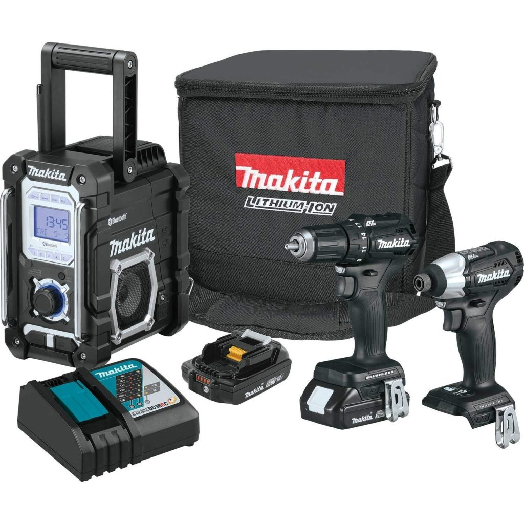 Makita-CX301RB-2.0Ah-18V-LXT-Lithium-Ion-Sub-Compact-Brushless-Cordless-Combo-Kit