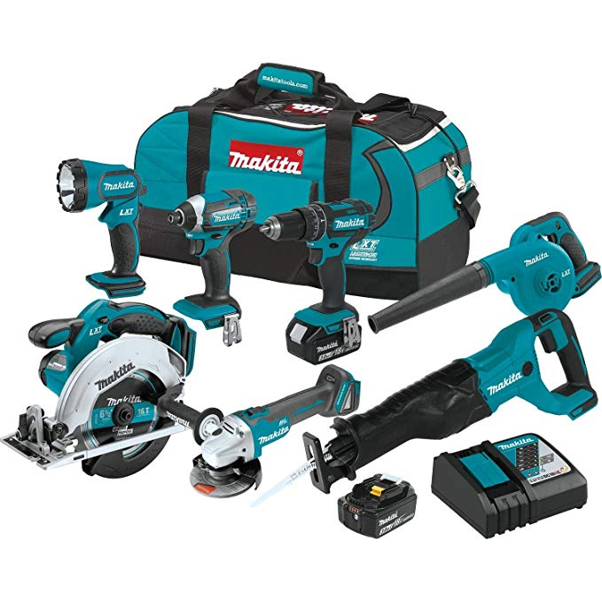 Makita-XT706-3.0Ah-18V-LXT-Lithium-Ion-Cordless-Combo-Kit