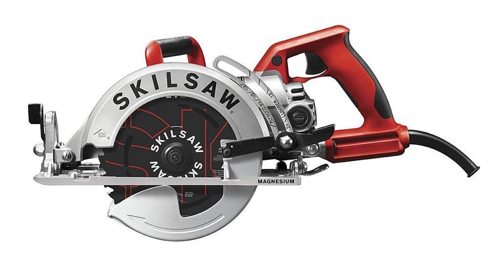 SKILSAW-SPT77WML-01-15-Amp-7-1-4-Inch-Lightweight-Worm-Drive-Circular-Saw