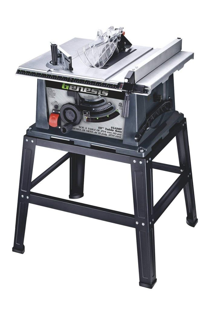 Genesis GTS10SB 10-Inch 15-Amp Table Saw