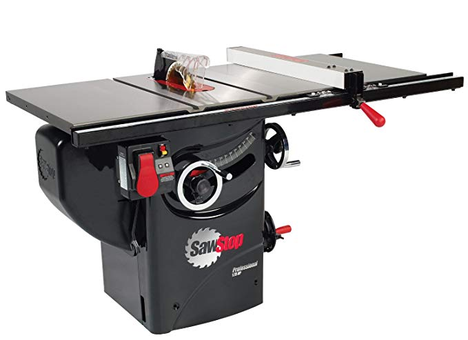 SawStop PCS175-PFA30 1.75-HP Professional Cabinet Saw