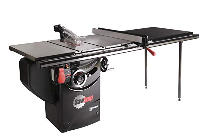 SawStop PCS31230-TGP252 3-HP Professional Cabinet Saw
