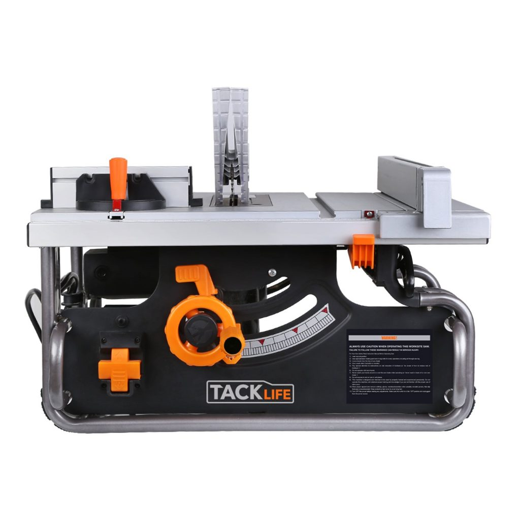 TACKLIFE Table Saw 10-inch, 15AMP, 4800RPM Saw