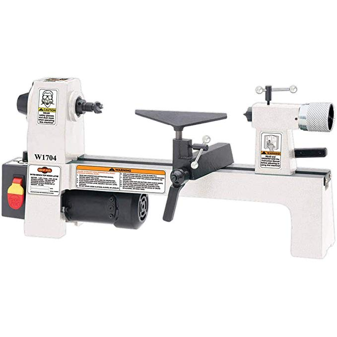 SHOP FOX W1704 Benchtop Lathe