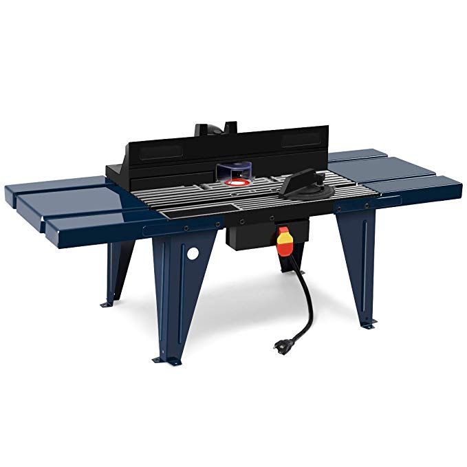 Goplus Electric Aluminum Router Table