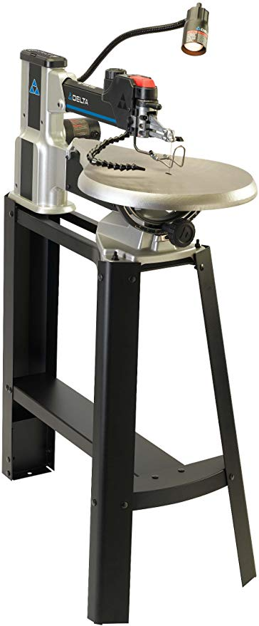 Delta Power Equipment Corporation 40-695-Scroll Saw-20-Inch Variable Speed Scroll Saw
