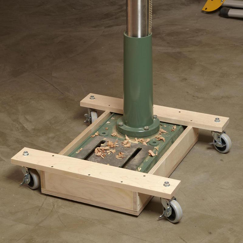 drill press base