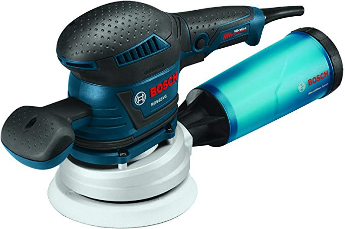 Bosch ROS65VC-5 5-Inch Pad Rear-Handle Random Orbit Sander
