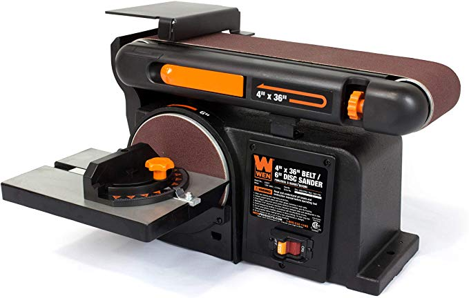 WEN 6502T Belt and Disc Sander