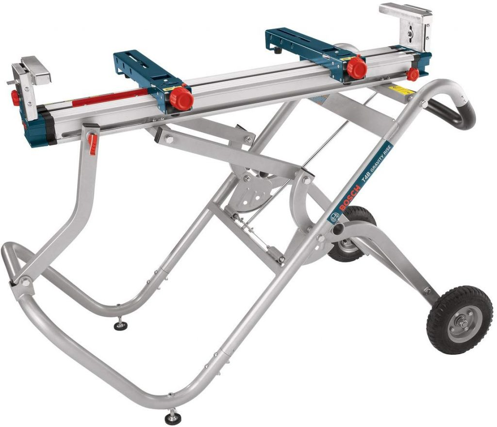 Bosch T4B Portable Wheeled Miter Saw Stand