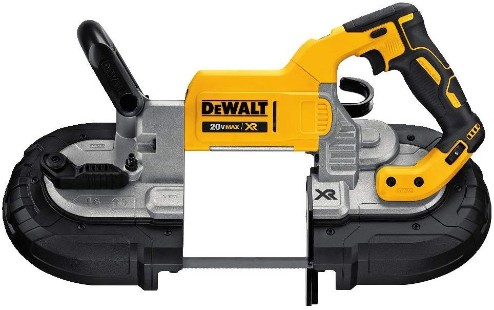 DEWALT 20V MAX Portable Band Saw, Deep Cut, Tool Only (DCS374B)