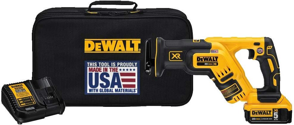 Dewalt DCS367P1 Compact Reciprocating Saw