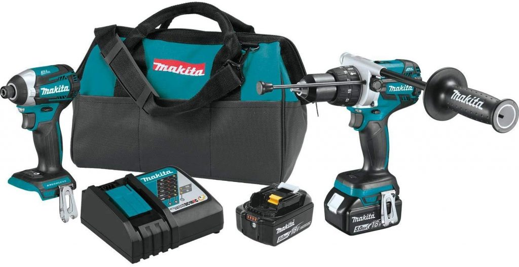 Makita XT268T 18V LXT Lithium-Ion Brushless Cordless 2-Pc. Combo Kit