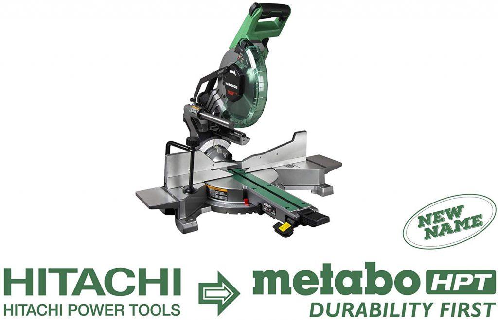 Metabo C10FSHC Sliding Dual Compound Miter Saw