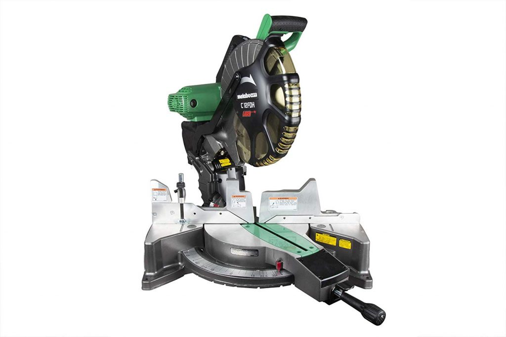Metabo HPT C12FDHS Double-Bevel Compound Miter Saw