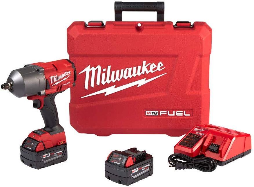 Milwaukee 2767-22 Impact Wrench with Friction Ring Kit