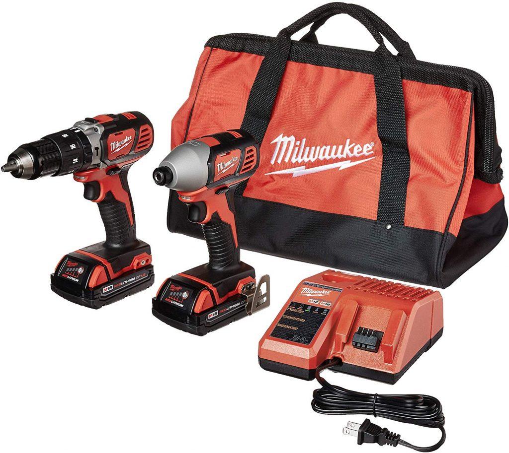 Milwaukee M18 2697-22CT Cordless Hammer Drill & Impact Driver Combo Kit