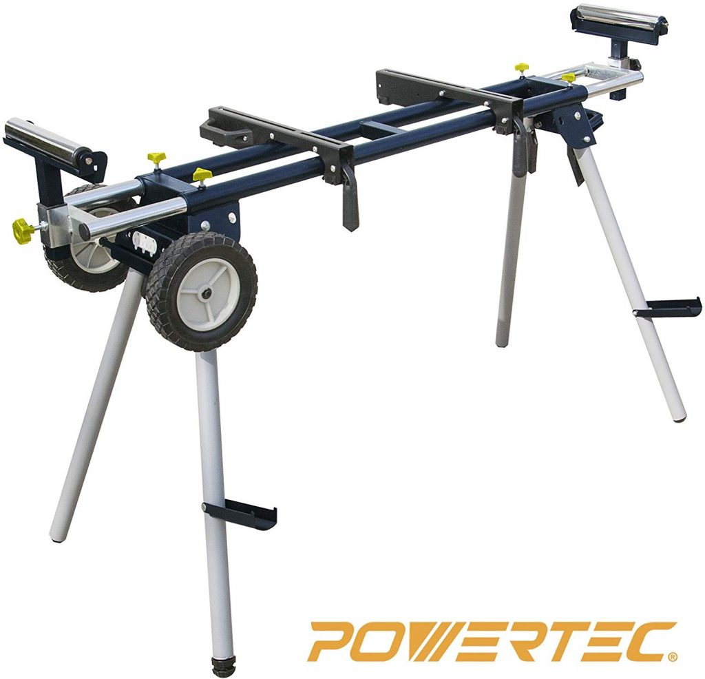 Powertec MT4000 Deluxe Miter Saw Stand