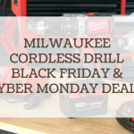 milwaukee cordless drill black friday