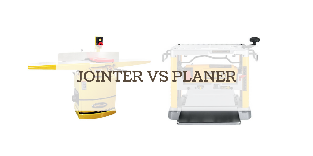 wood jointer vs planer