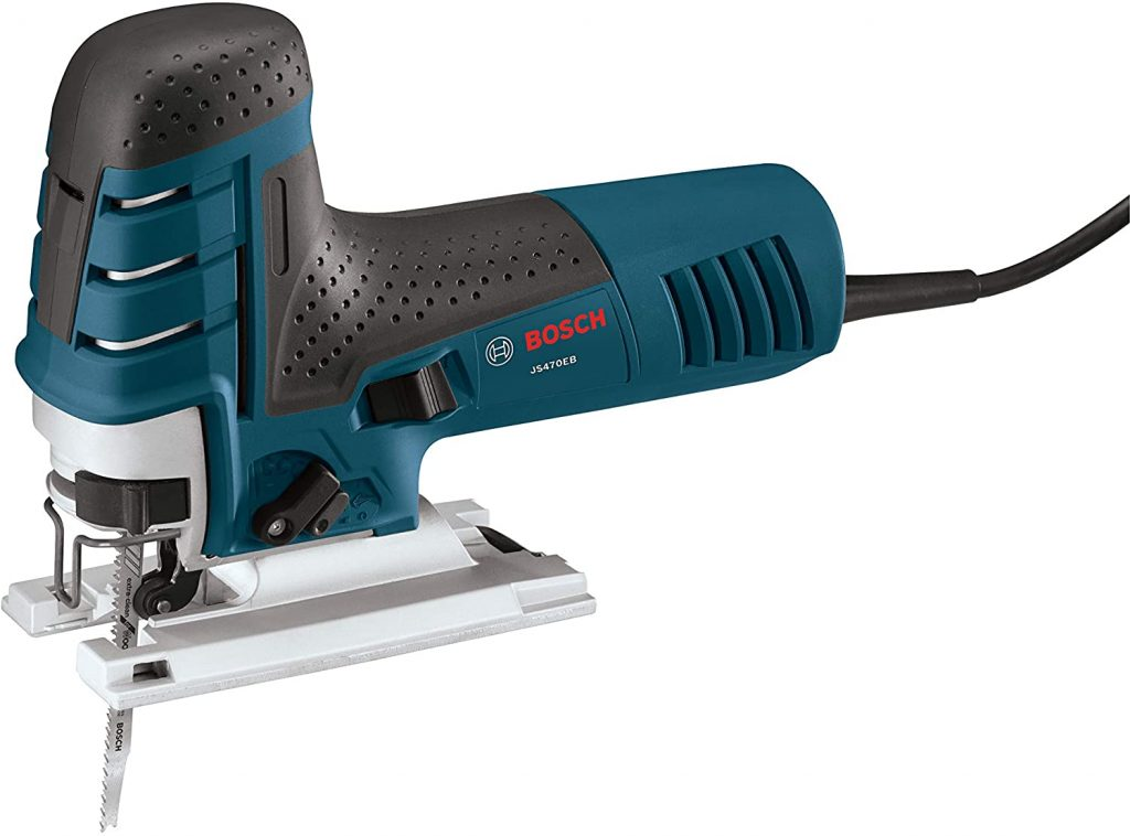 Bosch 7.0 Amp Corded Variable Speed Barrel-Grip Jigsaw