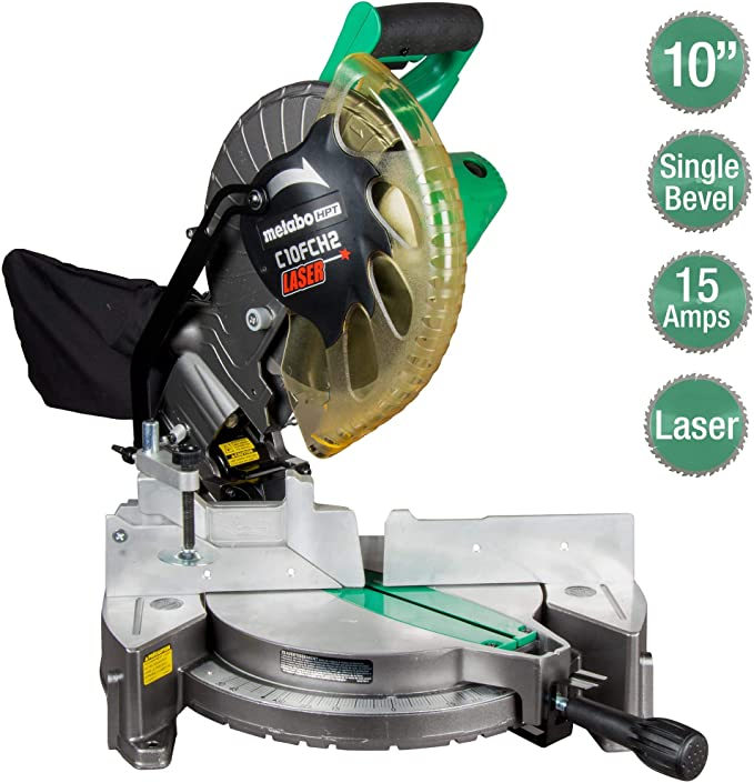 Metabo C10FCH2S Compound Miter Saw