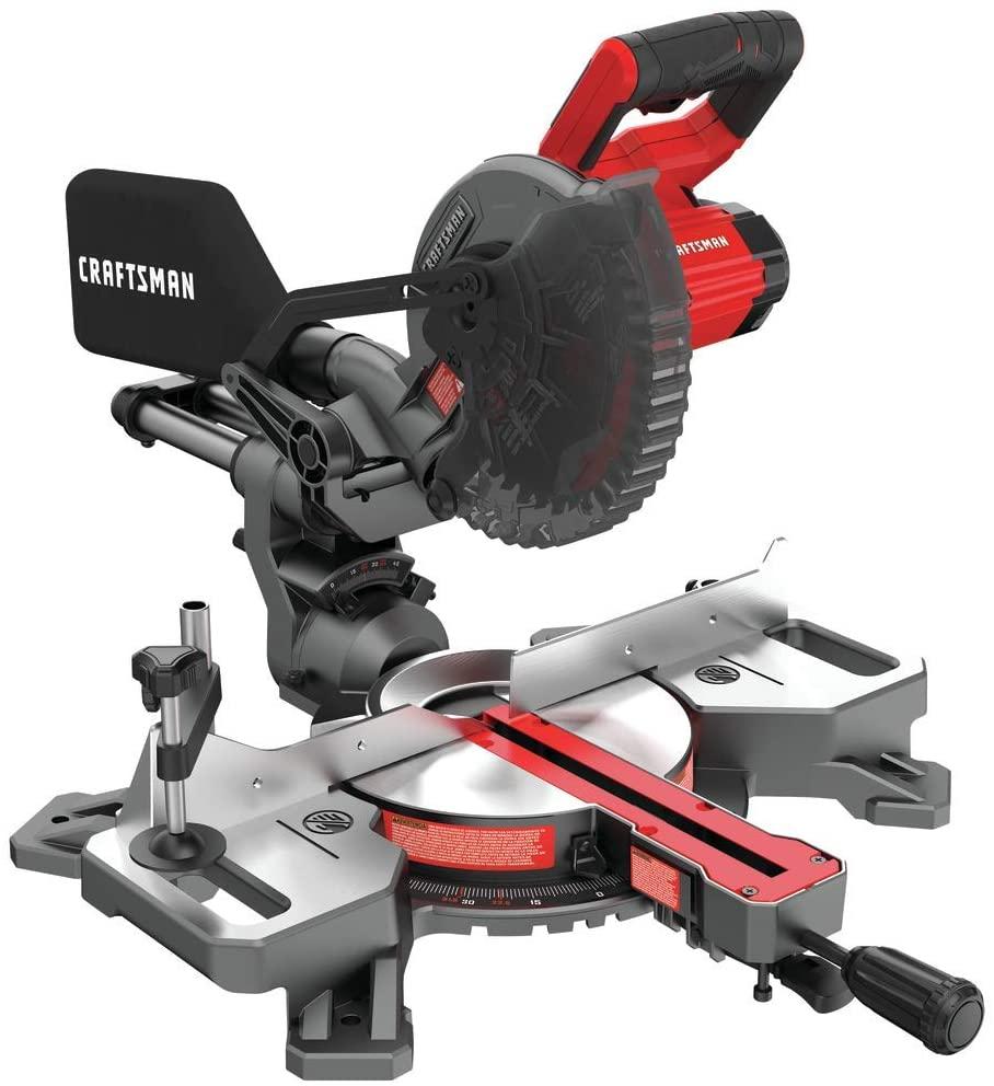 CRAFTSMAN CMCS714M1 Sliding Miter Saw Kit