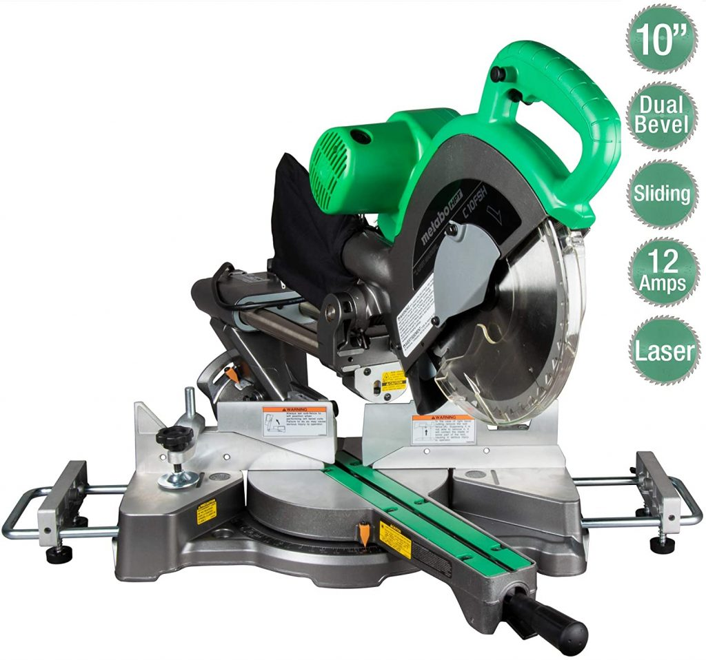 Metabo HPT C10FSHS Sliding Compound Miter Saw