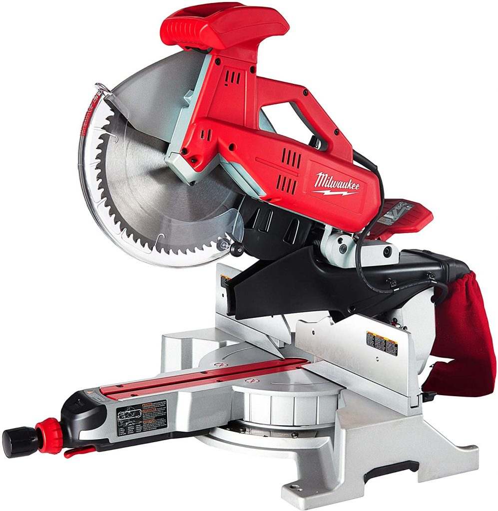 Milwaukee 6955-20 12-Inch Sliding Dual Bevel Miter Saw